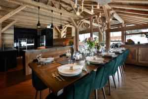 Restaurace v ubytování Les Trois Sieges
