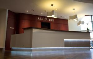The lobby or reception area at Steigenberger Dortmund