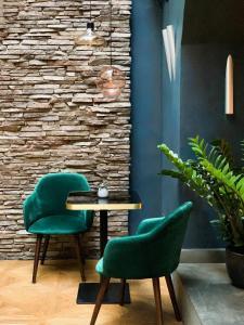 A seating area at Design Hotel Neruda
