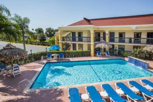 The swimming pool at or near Days Inn by Wyndham Florida City