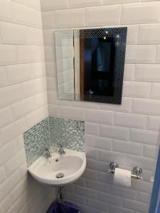 A bathroom at The unicorn