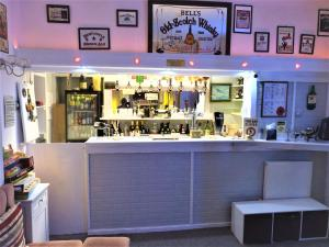 The lounge or bar area at The Berkswell