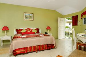 A bed or beds in a room at Rondel Village