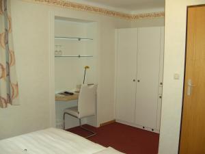Ein Badezimmer in der Unterkunft Frühstückspension Leopold Janu
