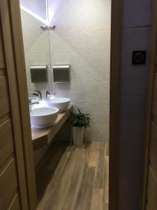 Łazienka w obiekcie A&P Motel