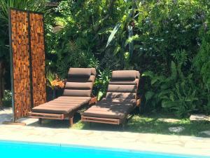 A piscina localizada em Villa Dream Lagoon ou nos arredores