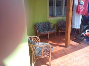 A seating area at Guest House SAMSON