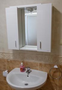 A bathroom at Apartamentos Muxia Mare