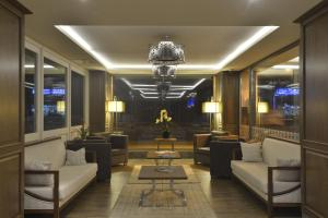 منطقة الاستقبال أو اللوبي في فندق نيديا غالاتا بورت