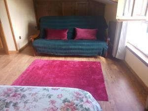 Cama o camas de una habitación en Aldea de Con