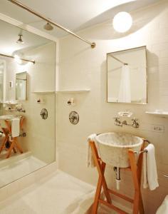 A bathroom at The Standard Miami