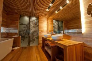 Un baño de Tierra Patagonia Hotel & Spa
