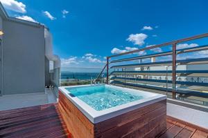 The swimming pool at or near Glyfada Riviera Hotel