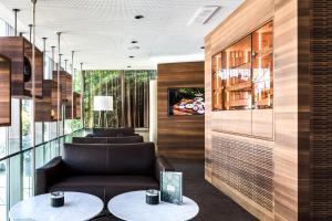 Lobby/Rezeption in der Unterkunft Engimatt City & Garden Hotel