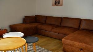 A seating area at Le 13 Fontane