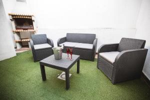 Zona de estar de Casa Spa El Capricho de Miguel