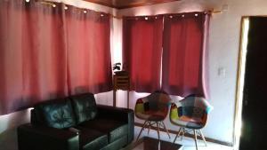 Zona de estar de Casa La Norma