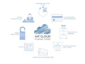 Planimetria di MY CLOUD Transit Hotel - Guests with international flight only!