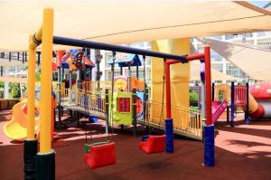 De kinderspeelruimte van Alva Donna World Palace Hotel