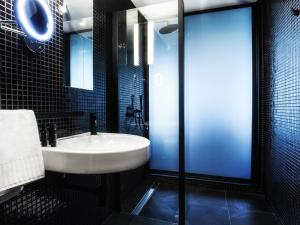 A bathroom at The Loft All-Inclusive Hotel Adults Only