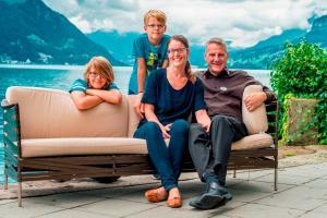 Семья в Superior Hotel Nidwaldnerhof