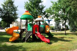 Children's play area at Hotel Książę Poniatowski