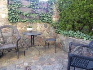 A patio or other outdoor area at Dom gościnny Pod lasem