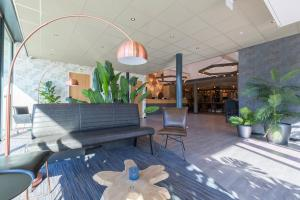 The lobby or reception area at Best Western Amsterdam