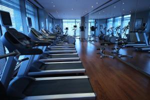 Gimnasio o instalaciones de fitness de Grand Ankara Hotel Convention Center