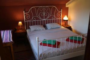 Cama o camas de una habitación en Hostel on the Hill