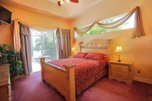 Ein Bett oder Betten in einem Zimmer der Unterkunft Villa Princess