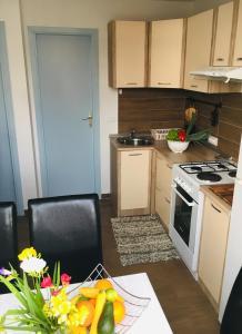 A kitchen or kitchenette at Apartment Mata