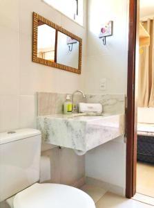A bathroom at Casa Corvina