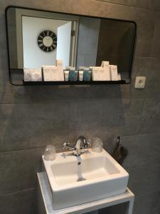 A bathroom at Studio 't Ponton