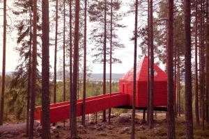 Children's play area at Treehotel