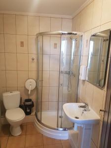 Ванная комната в Hotel Erfolg