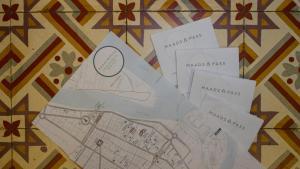 The floor plan of PAVILION