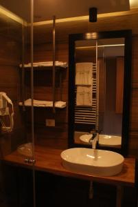 A bathroom at AgriTourism HUQI