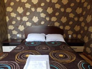 Кровать или кровати в номере Mix Hotel