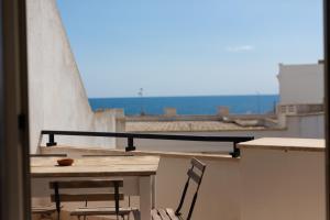 Balcone o terrazza di B&B Biancaleuca