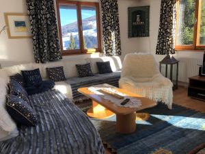 Posezení v ubytování Chalet Maresi by Schladming-Appartements