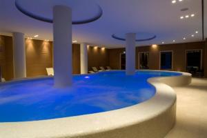 The swimming pool at or near Hotel Villa Ricci & Benessere