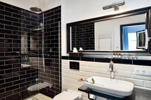 A bathroom at Syte