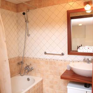A bathroom at Casa S. Félix