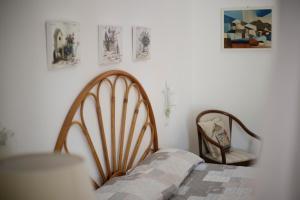 Letto o letti in una camera di Padulella Mare