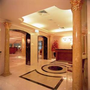 منطقة الاستقبال أو اللوبي في فندق إيلاف طيبة