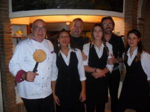 Staff members at Hotel Le Mura