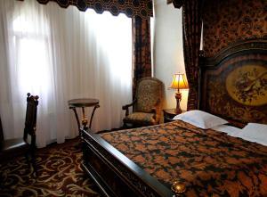 Кровать или кровати в номере Нессельбек