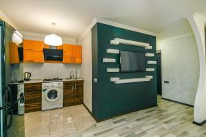 A cozinha ou cozinha compacta de Apartment Near The 28Mall