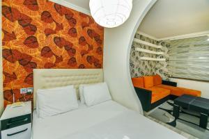 Cama ou camas em um quarto em Apartment Near The 28Mall